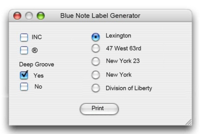 Blue-Note-Label-Generator