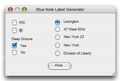 Blue-Note-Label-Generator