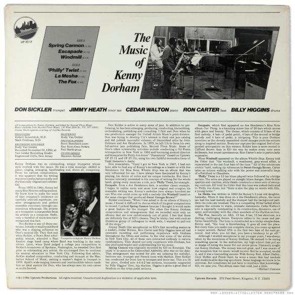 Don-Sickler-Kenny-Dorham-Music-of---backcover-1800-LJC