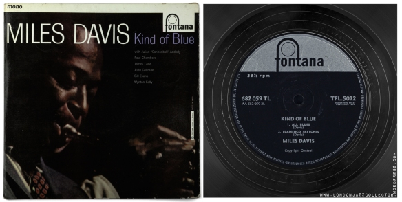 Miles-Davis-Kind-of-Blue-UK-Fontana-cover-and-label--1800-LJC