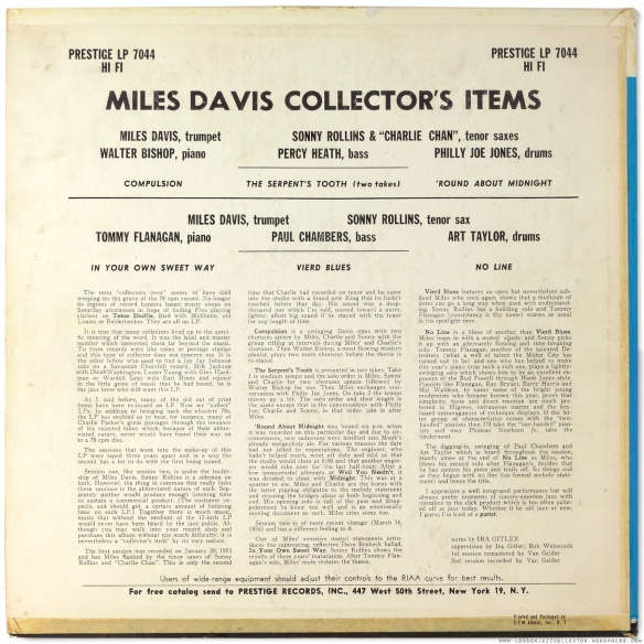 Miles-Davis-Collectors-Items-Prestige-7044-back-cover-1800-LJC