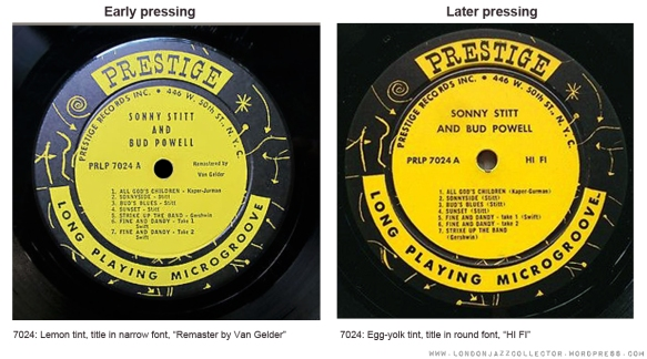Prestige-Early-vs-Later-pressing