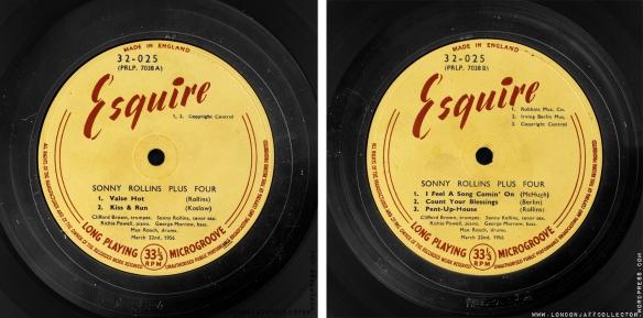 Sonny-Rollins-Plus-Four-Esquire-lbs-2000-LJC