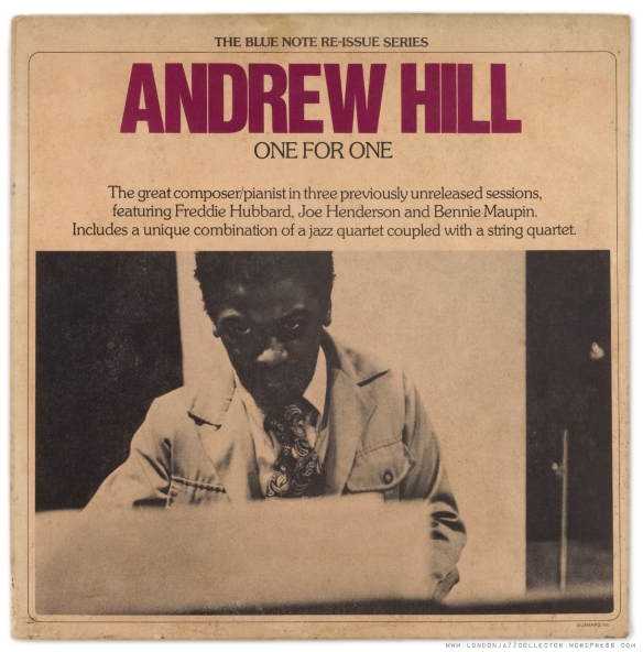Andrew-Hill-One-for-One-cover-1800-LJC