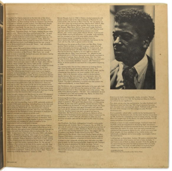 Andrew-Hill-One-for-One-gatefold-rt--1800-LJC