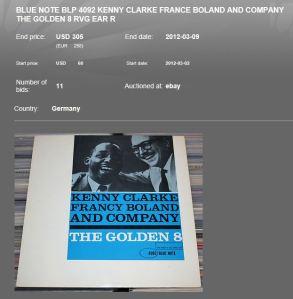 Ebay Golden 8 - 305USD