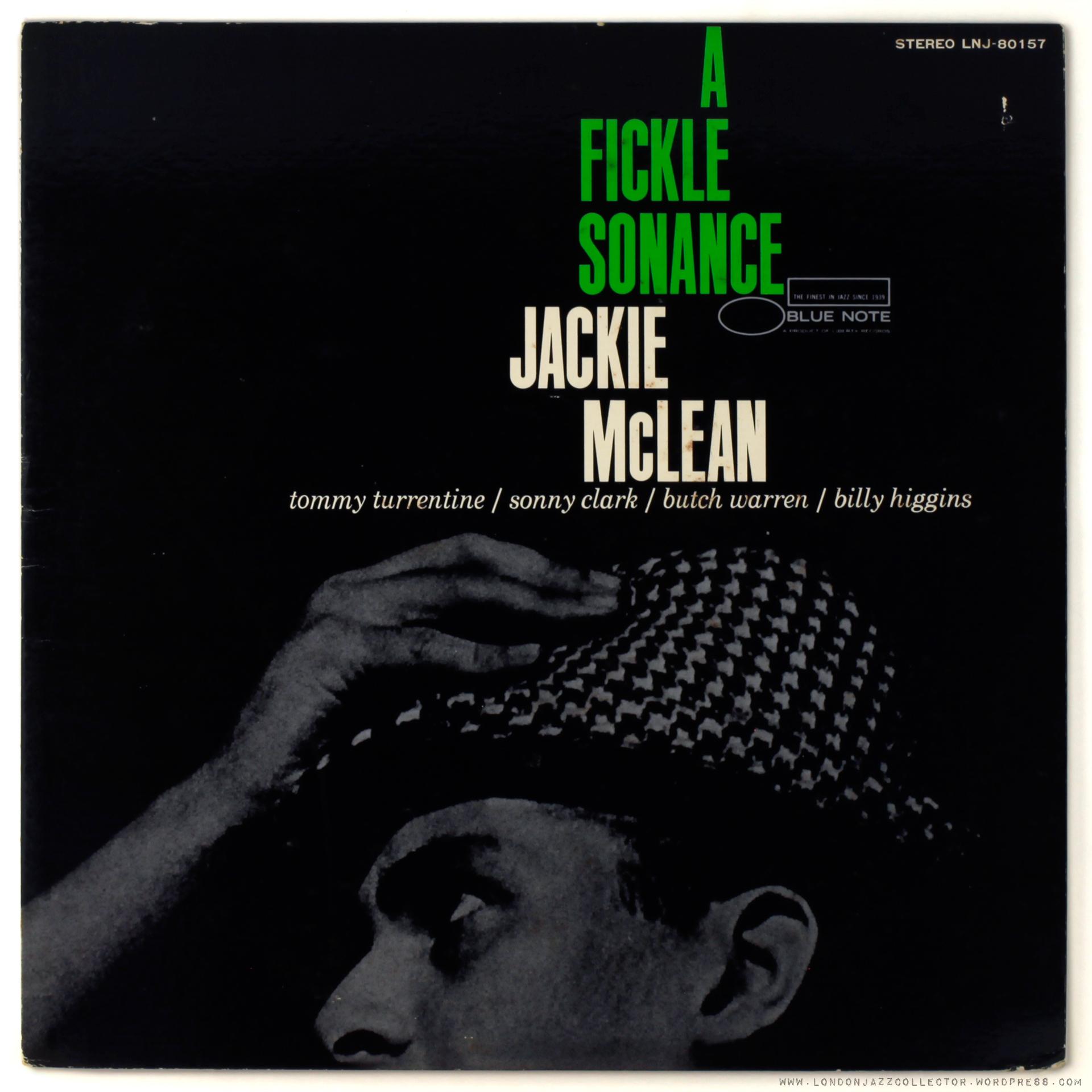 Jackie Mclean A Fickle Sonance 1961 Blue Note Toshiba