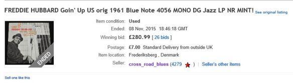 Hubbard 4056 £280