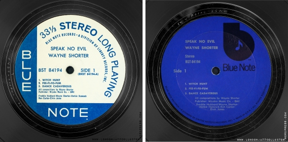 Wayne-Shorter-Speak-No-Evil-DivLib-and-UA-labels-2000-LJC
