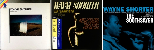 Wayne-Shortter-three-editions-of-The-Soothsayer