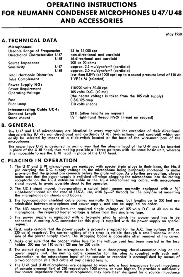 U47-U48 Operating Instructions p1