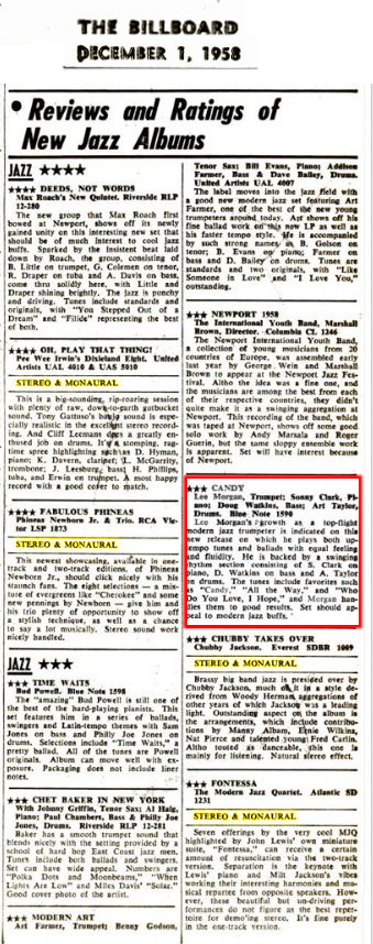 billboard-new-jazz-releases-dec-1958