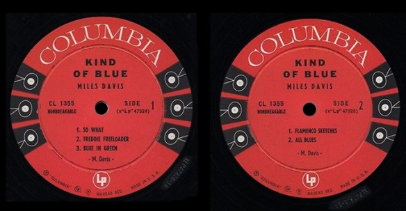 kob-1a-1a-miles-davis-kind-of-blue-rare-1a-1a-orig-mono-columbia-deep-groove-lp-w-errors