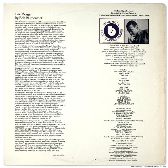 Lee Morgan The Procrastinator 1967 Blue Note Ua Vs