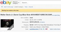 Davis Cup Ebay