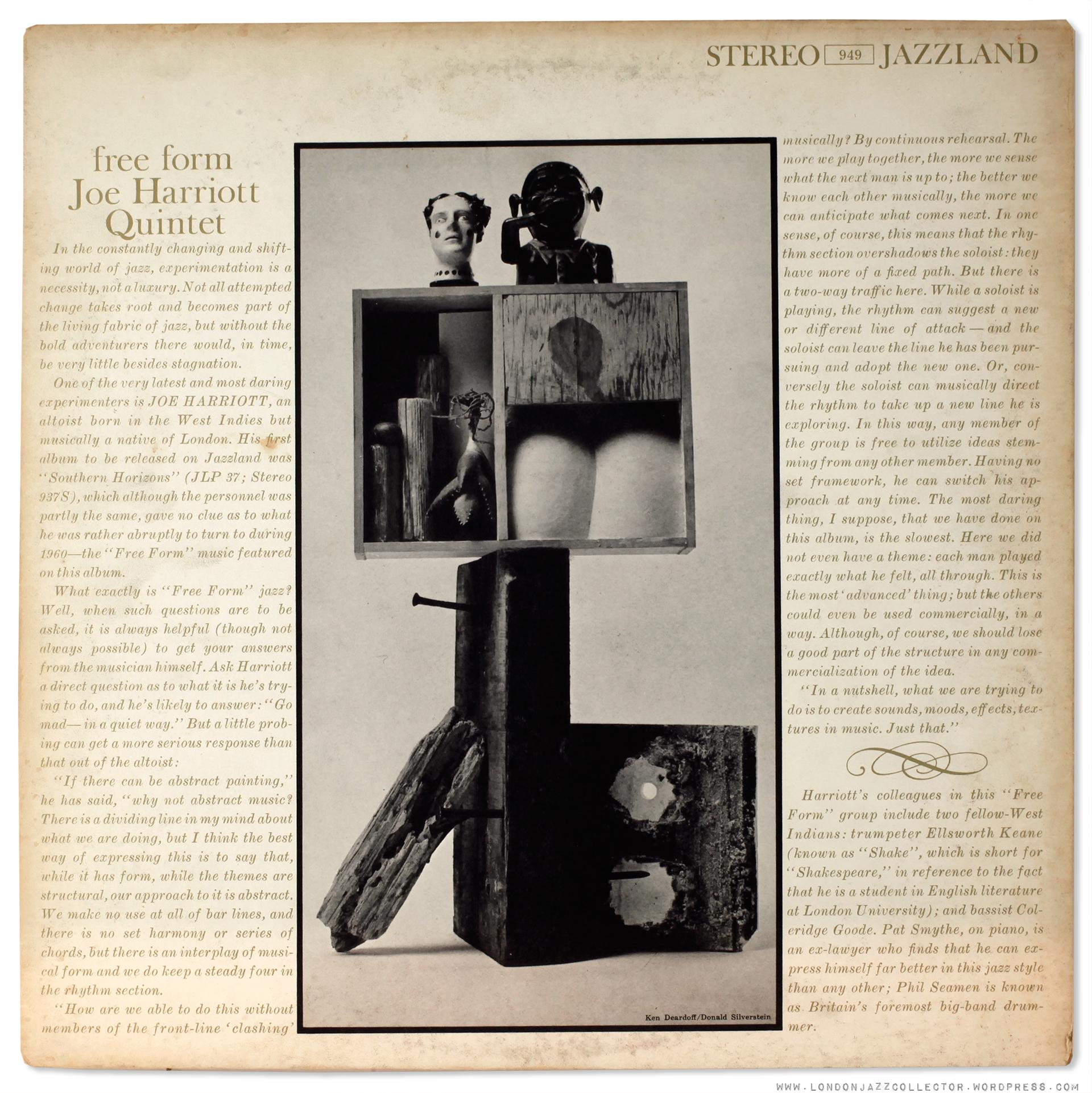Joe Harriott revisited: Free Form (1960) Jazzland Stereo