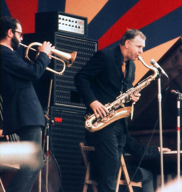Ian Carr & Don Rendell Sunbury 1968 - 1 Harry Monty.jpg