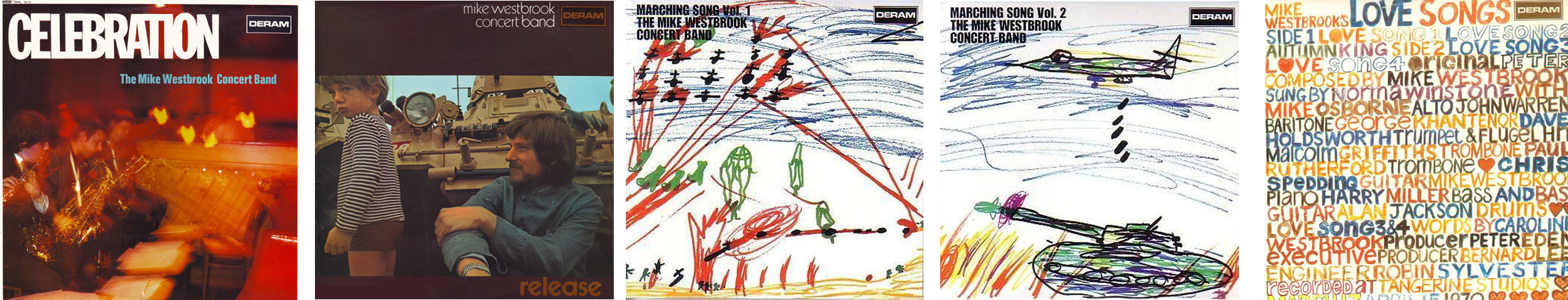 Mike Westbrook Concert Band: Marching Song/ Vol1 (1969) Deram