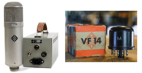 classic-u47-with-psu and VF 14 tube