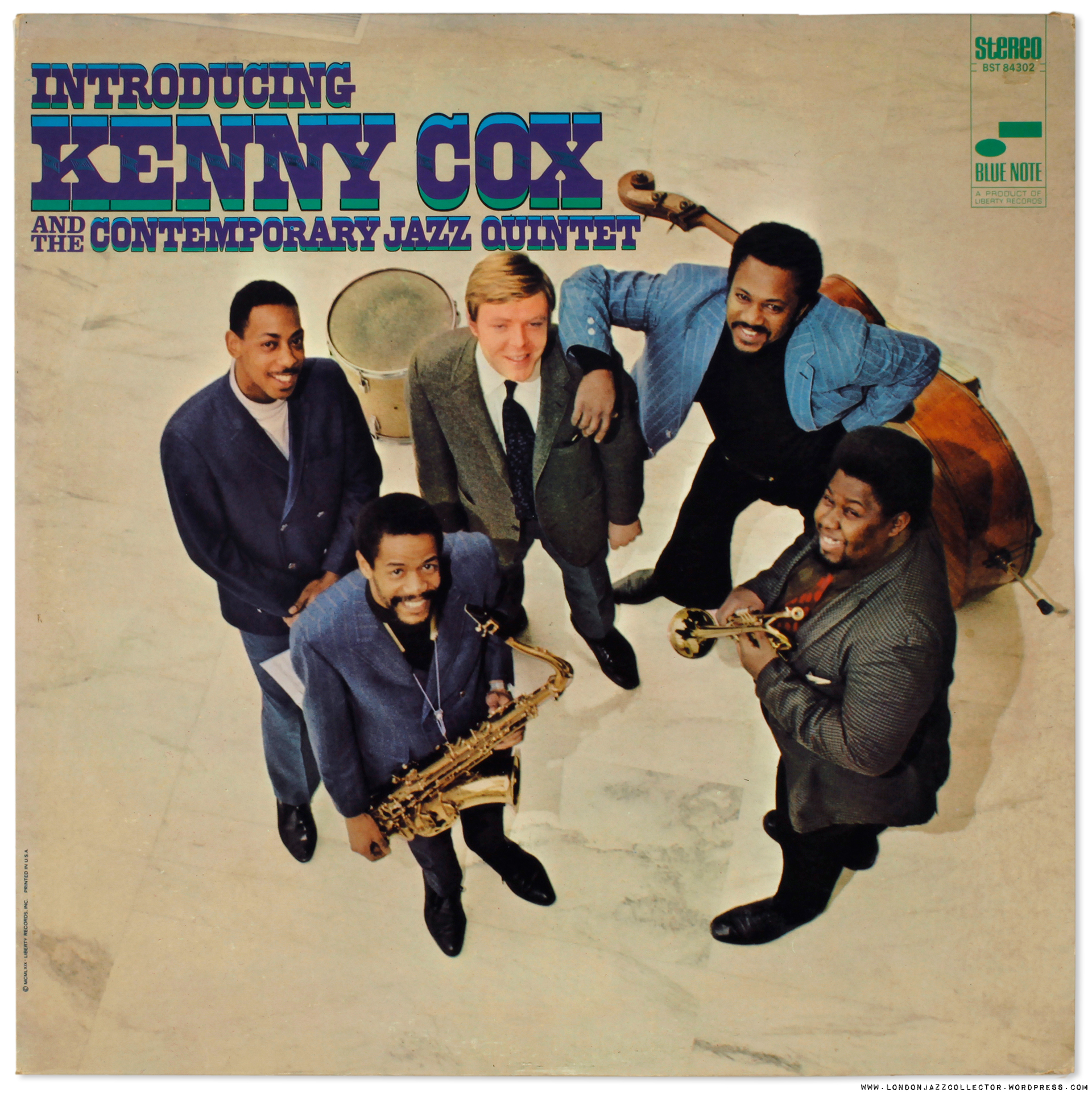 Kenny Cox: Introducing the Contemporary Jazz Quintet (1968