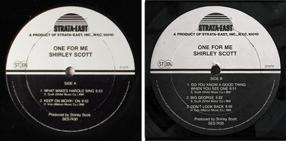 shirley-scott-one-for-me-label