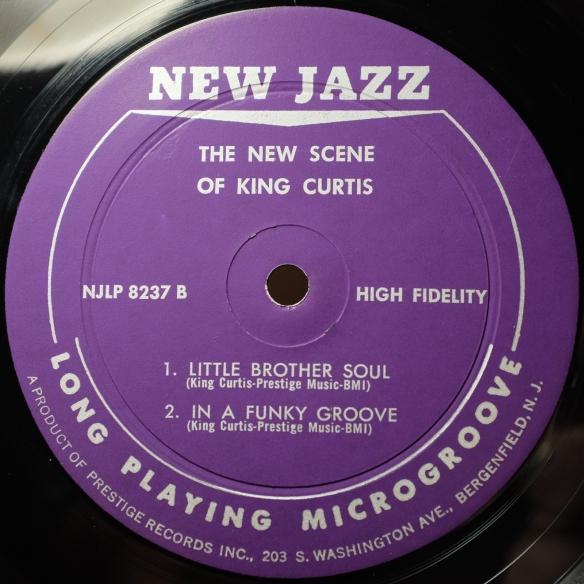 New Jazz Abbey Pressing