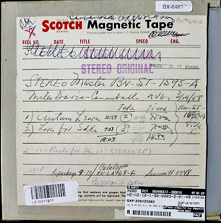 1595 tape stereo